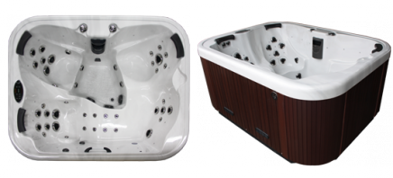 elite omega 46 coast spas sverige. Black Bedroom Furniture Sets. Home Design Ideas